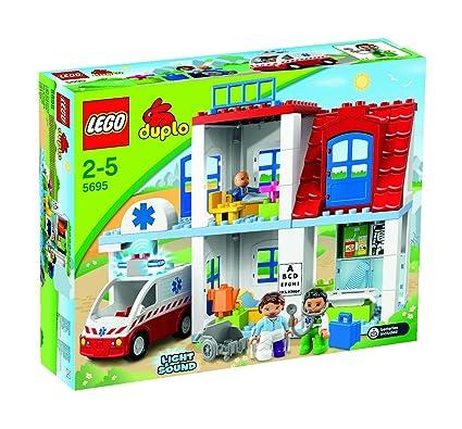 Amazoncom Lego Duplo 5695 Doctors Clinic Toys Games