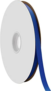 "product image for Berwick Offray 3/8"" Single Face Satin Ribbon, Royal Blue, 100 Yds"