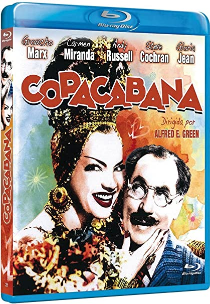 Copacabana [Blu-ray]: Amazon.es: Groucho Marx, Carmen Miranda ...