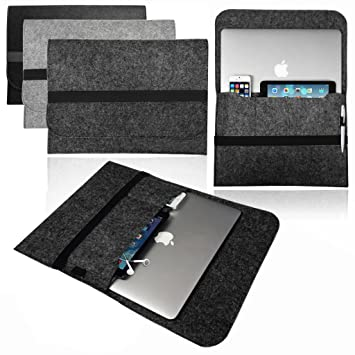 Retina /& Air Smart laptop Felt Sleeve Case Cover Bag for Apple MacBook Pro