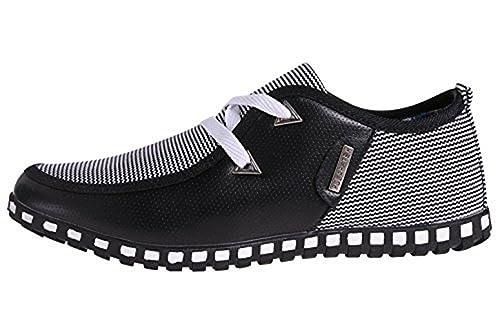 CUSTOME Hombre Cuero Ocio Vestir Zapatos: Amazon.es: Zapatos y complementos