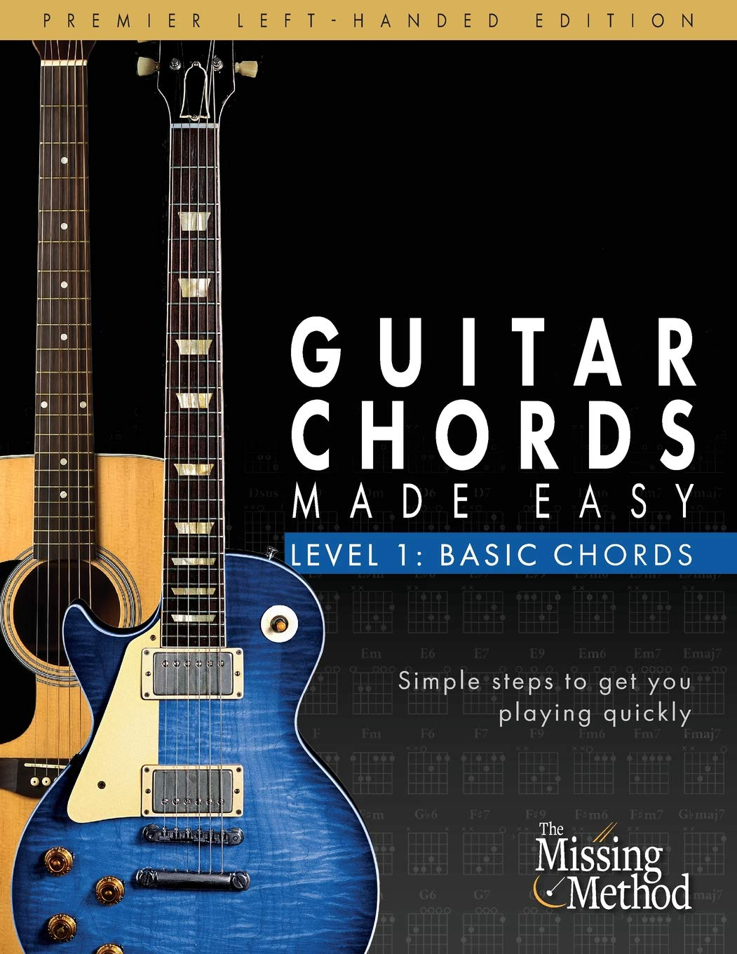 Amazon Left Handed Guitar Chords Made Easy Level 1 Basic