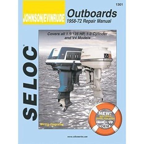 amazon com seloc johnson evinrude outboards 1 5 1301 ib boat 88hp evinrude outboard engine parts diagrams seloc johnson evinrude outboards 1 5 1301 ib