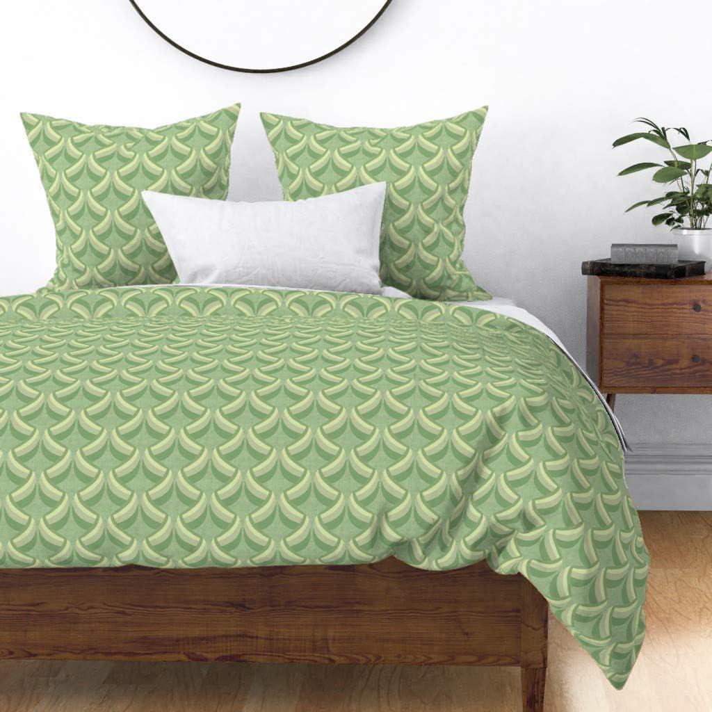 The Pillow Collection Calanthe Geometric Bedding Sham Caribbean King//20 x 36