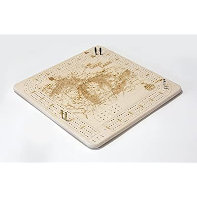 Great Lakes Cribbage Board: Toys & Games
