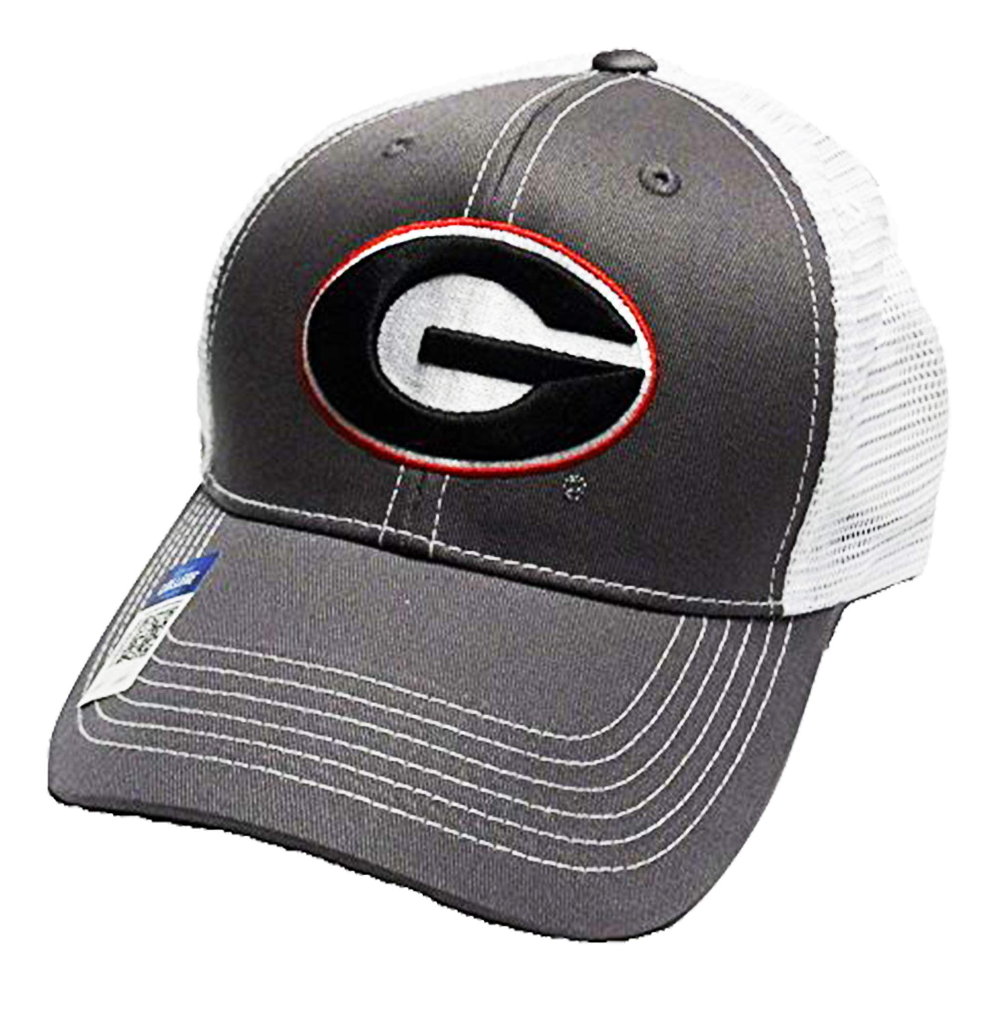 quality design 882b0 c9d16 Georgia Bulldogs Adjustable Gray Cap Mesh Back Hat