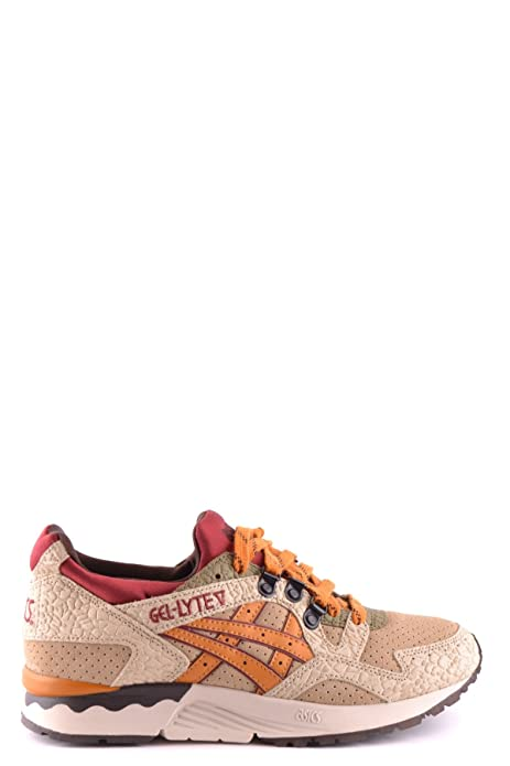 ASICS SNEAKERS DONNA MCBI028002O PELLE BEIGE