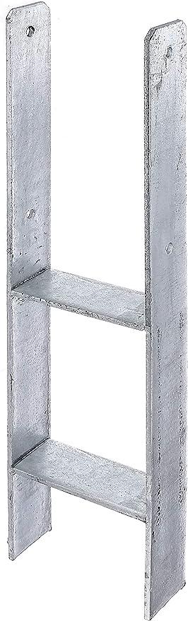 GAH-Alberts Plinthe pliante en acier nickel/é