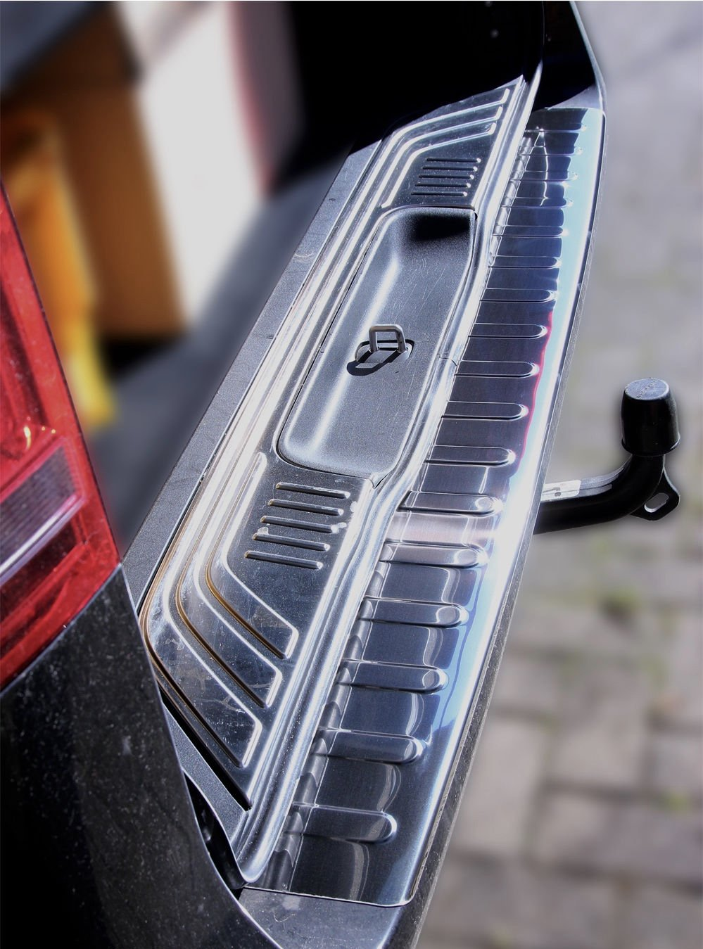 Mercedes Benz Vito W447 V Class Bumper Protector Stainless Steel Rear Step Cover Mobilio High Gloss Chrome Car Motorbike