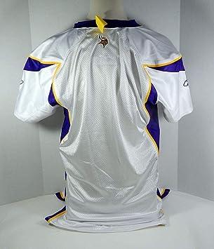 2007 Minnesota Vikings Blank Game Style White Jersey VIKSNC00249