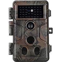 Agitato Cámaras de Caza 20MP 1080P H.264 Video con Velocidad de Disparo de 0.1s con Visión Nocturna de 100 Pies Visión…