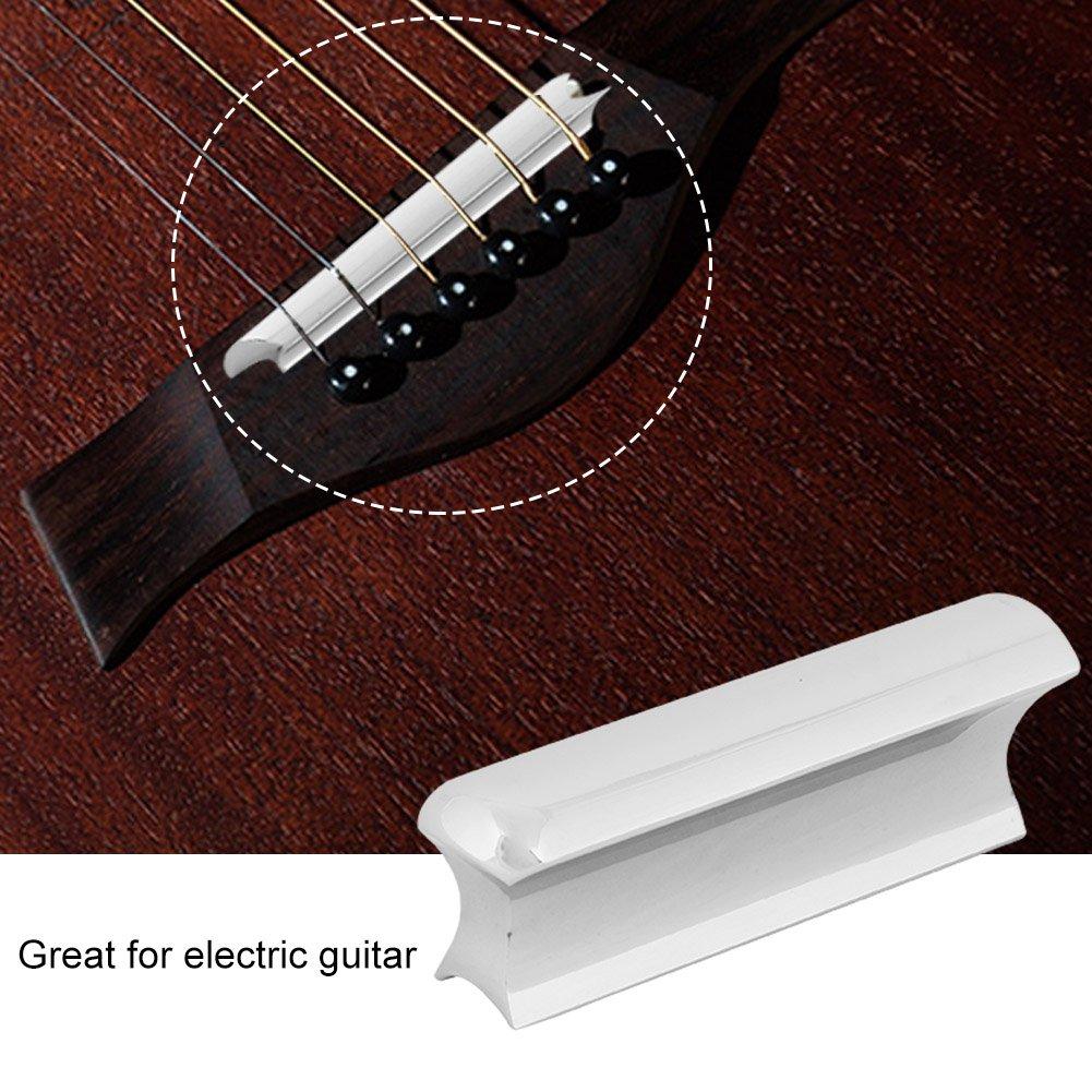 Dilwe Guitarra Slide, Guitarra Eléctrica Acero Inoxidable Slide Bar Diapositivas de Cuerdas de Guitarras Plata: Amazon.es: Deportes y aire libre