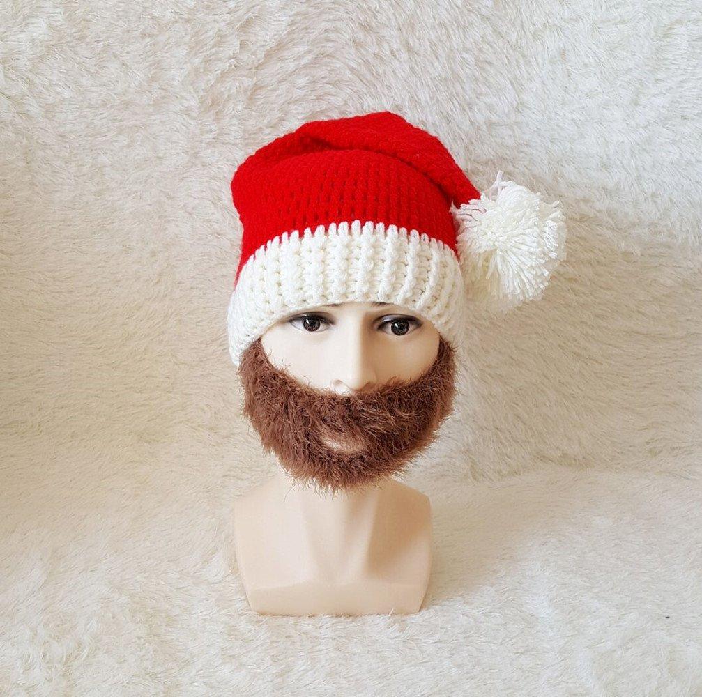 IN Sombrero de la Navidad Otoño E Invierno Sombrero Barbudo del ...