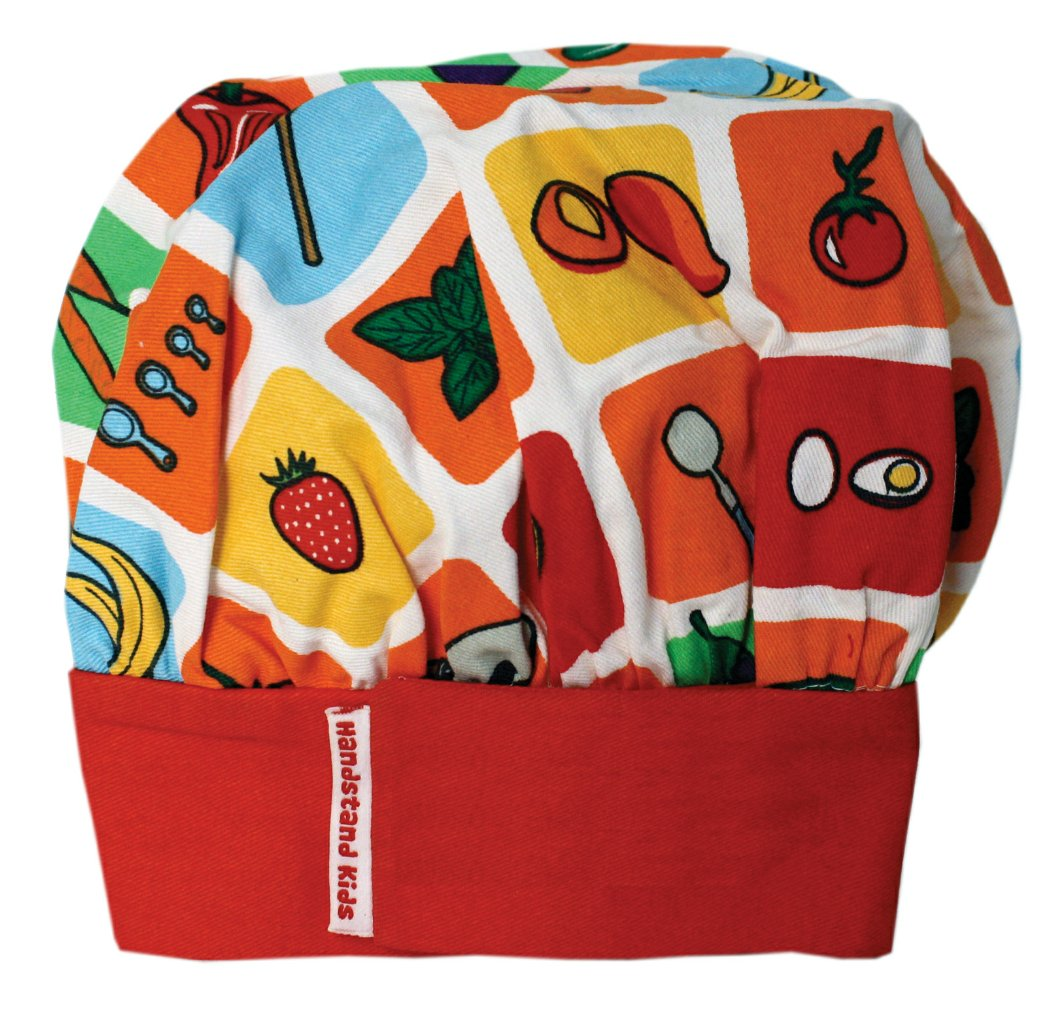 Handstand Kids Child's Eat Your Fruits and Veggies Chef's Hat