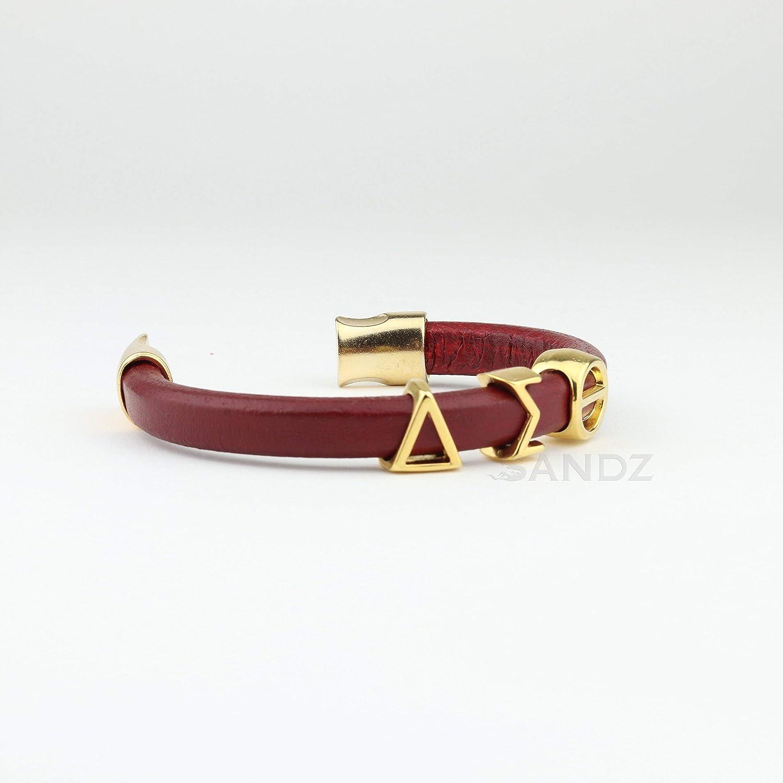 Delta Sigma Theta Leather bracelet Prophyte G DST