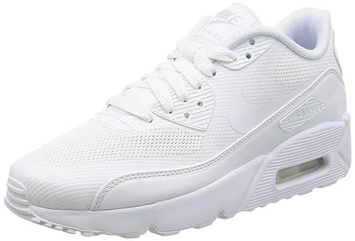 Nike Unisex Kinder Air Max 90 Ultra 2.0 (Gs) Sneaker, weiß