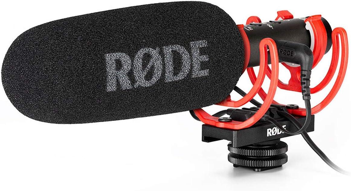 Rode Videomic NTG - Micrófono de cámara de difusión + Protector de Viento keepdrum: Amazon.es: Electrónica