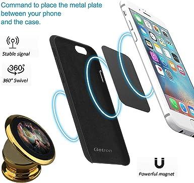 Soporte magnético de Coche para Gato, Galaxia, Planeta, Gafas Ajustables, rotación de 360 Grados, Soporte Universal para teléfono móvil Compatible con Todos los iPhone, GPS, Smartphone: Amazon.es: Electrónica