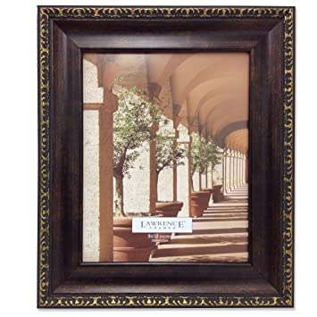 lawrence frames 183180 venice bronze picture frame 8 by 10 inch