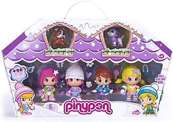 Pinypon Famosa 700008152 Pack da 6 figuritas: Amazon.es ...