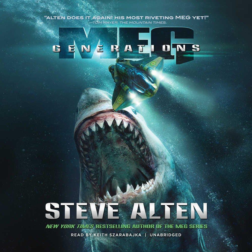 Meg: Generations: Amazon.de: Steve Alten, Keith Szarabajka ...