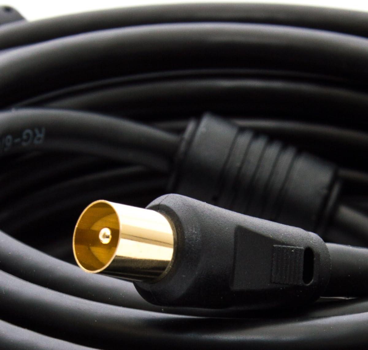 Premiumx 5m Basic Line Tv Antennenkabel Elektronik