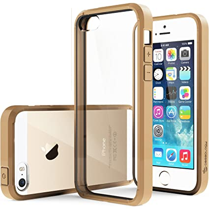 apple iphone 5s gold. caseology premium hybrid fusion case for apple iphone 5/5s gold with diy clear back iphone 5s