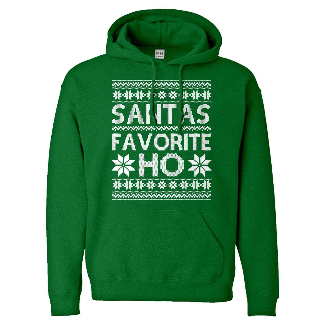Indica Plateau Santas Favorite Ho Adult Hoodie 3509-H