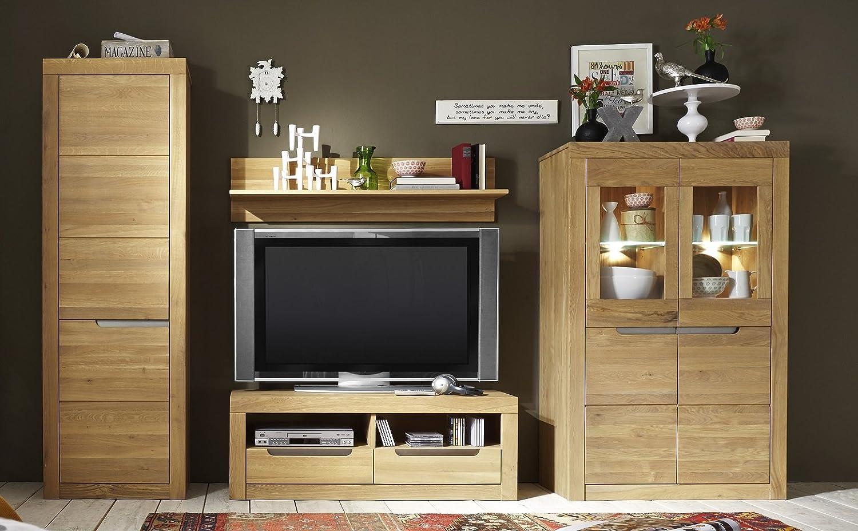 Main Möbel Wohnwand Wien Wildeiche Geölt Amazonde Küche Haushalt