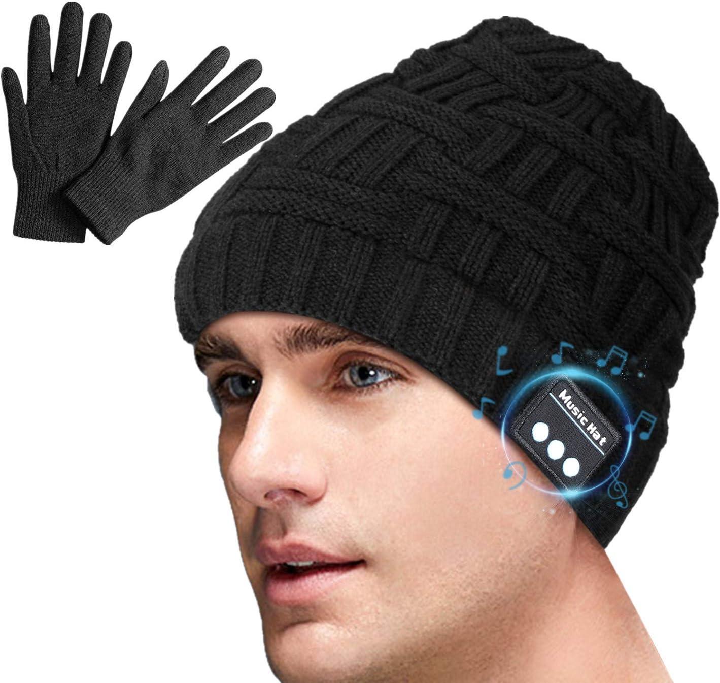 Miserwe Bluetooth Beanie V5.0 Bluetooth Hat for Men &Women