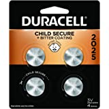 Duracell - 2025 3V Lithium Coin Battery - with bitter coating - 4 count