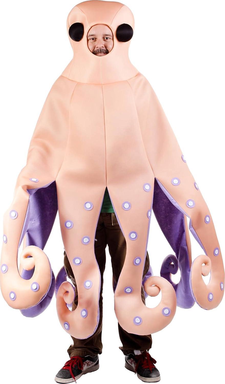 Disfraz de pulpo para adulto - Única: Amazon.es: Juguetes y juegos