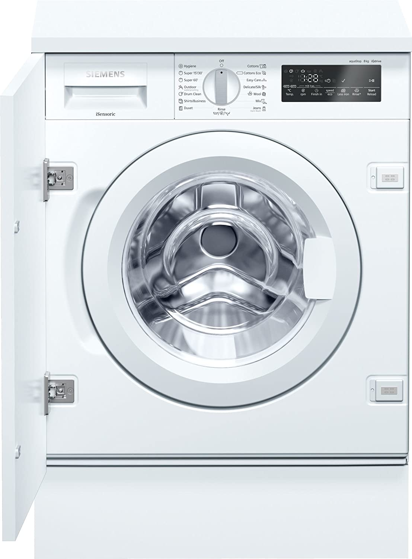 Siemens iQ700 WI14W540EU Integrado Carga frontal 8kg 1400RPM A+++ ...