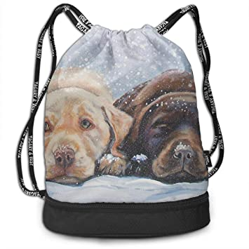Paquete de Mochilas de Labrador recuperador de Perro Arte ...