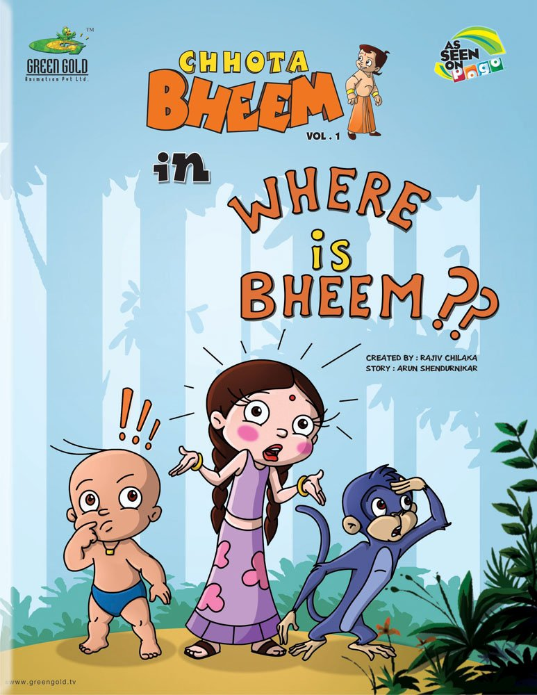 buy chhota bheem in where is bheem vol 1 01 book online at low