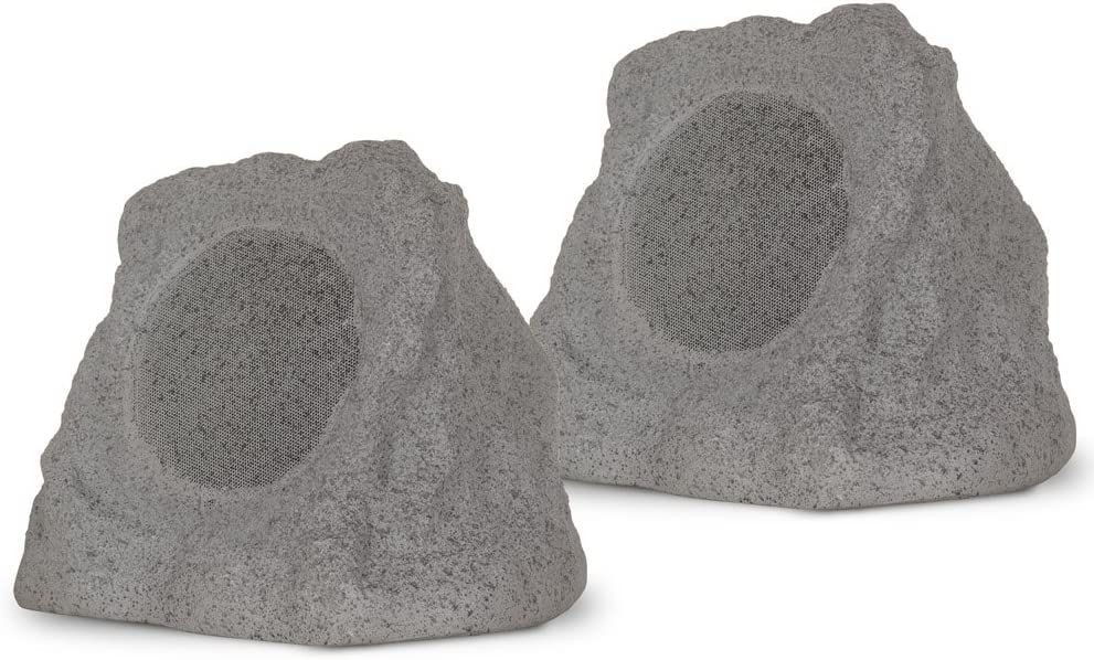 Theater Solutions RK6GBT Powered Bluetooth Outdoor Granite Grey 6.5