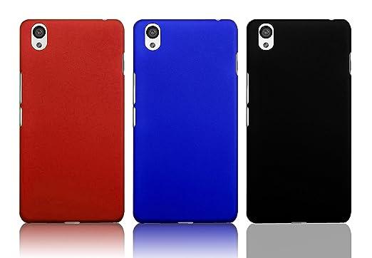 66 opinioni per Dolextech case cover for OnePlus X Smartphone (Nero & Blu & Rosso)