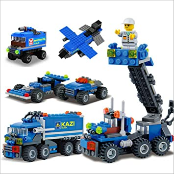 super cool christmas gift enlighten child educational toys dumper truck diy toys building block sets compatible - Cool Christmas Toys