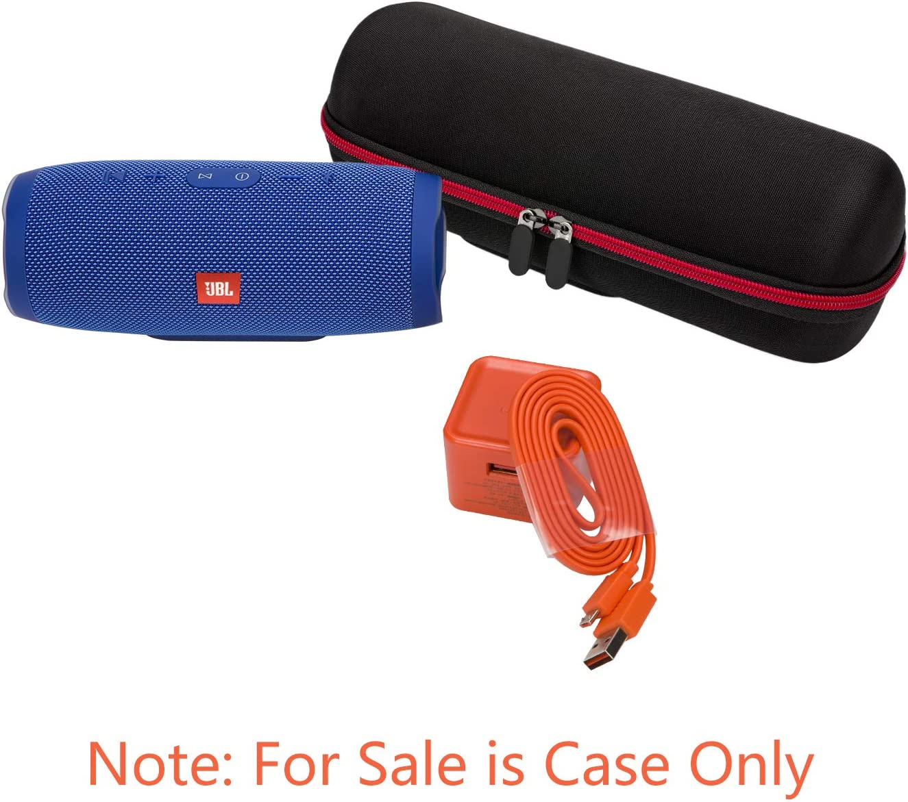 Hard Strong Travel Carrying Storage Bag(JBL-CHARGE3-CASE ONLY) JONGEN Case for JBL Charge 3 Waterproof Portable Bluetooth Speaker