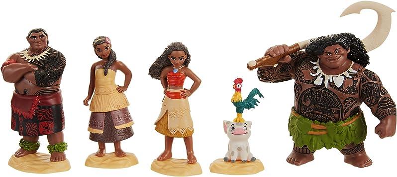 Jakks Pacific Vaiana Figuras, Multicolor, Talla única (45536-7L): Amazon.es: Juguetes y juegos