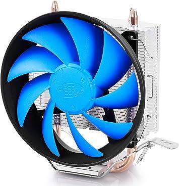 DeepCool GAMMAXX 300 disipador para procesador CPU AMD y Intel 3/Heatpipe, Ventilador PWM 120/x 25/mm LED Red, Socket AM4//AM3/+//FM2//FM1//AM2//ryzen//Athlon//i7//Pentium//Celeron