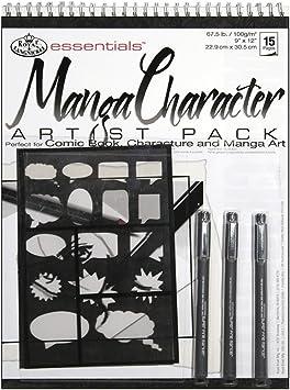Royal /& Langnickel Manga Pad Pack