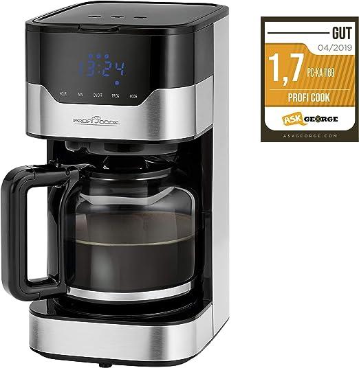 Profi Cook ProfiCook PC-KA 1169 - Cafetera automática (función de ...