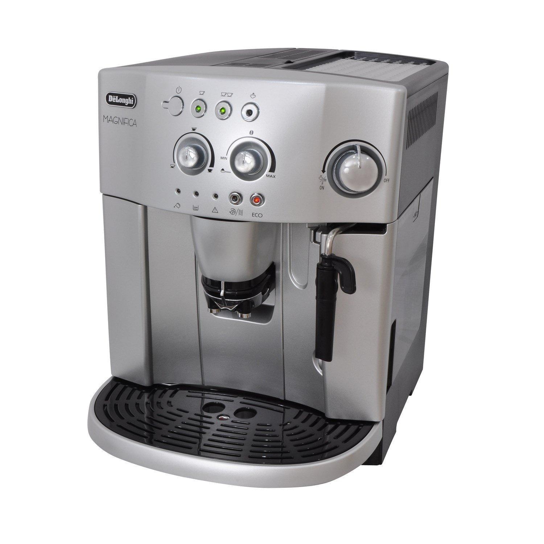 DeLonghi Magnifica ESAM 4200.S - Cafetera (Independiente, Máquina espresso, 1,8 L, Molinillo integrado, 1450 W, Plata): Amazon.es: Hogar
