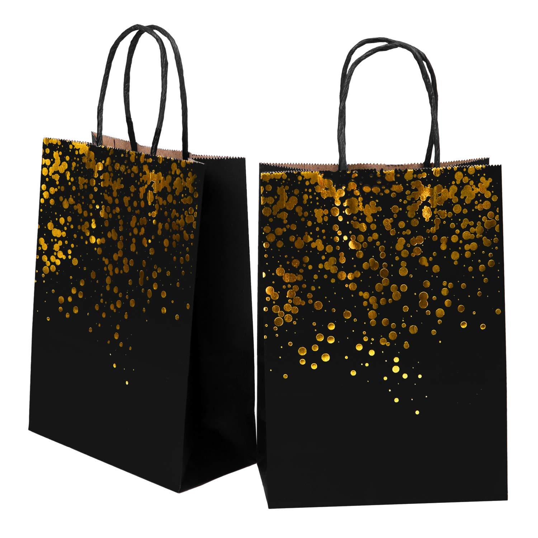 Amazon.com: Cooraby - Bolsas de papel para despedida de ...