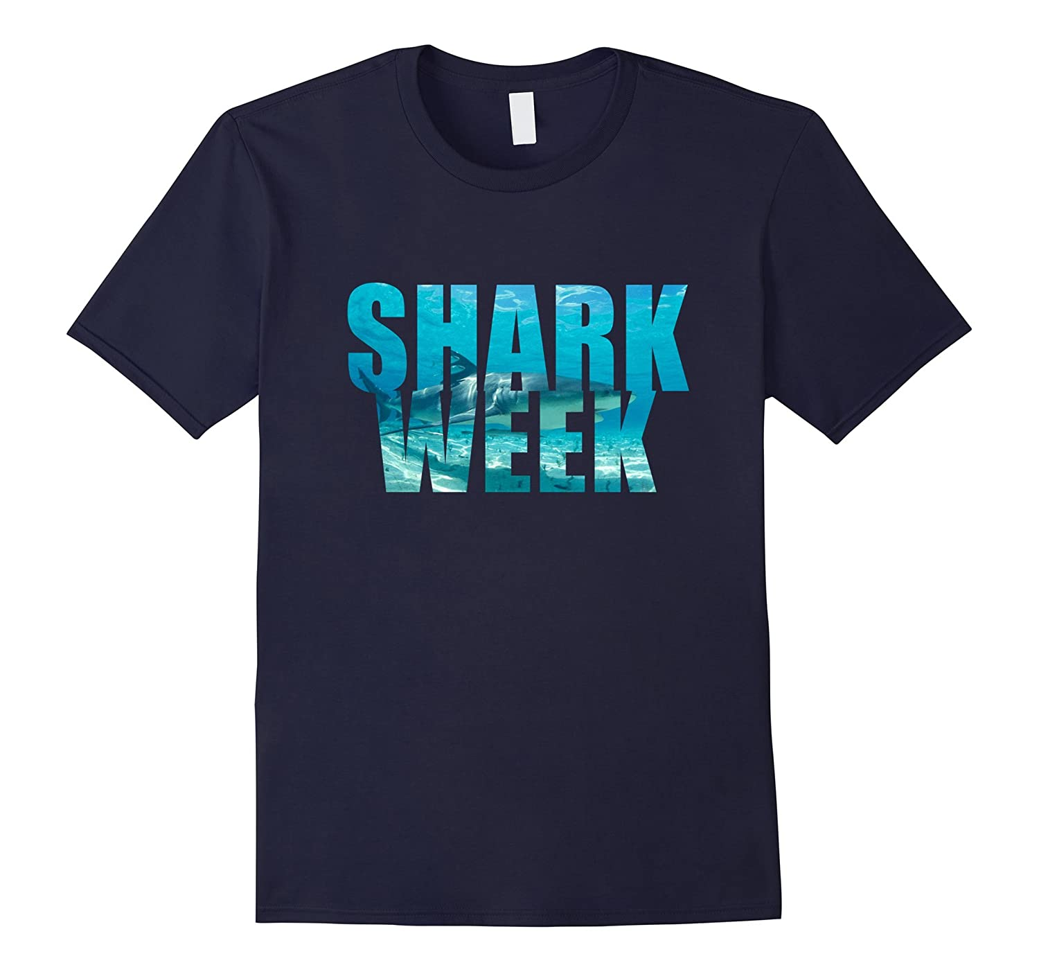 Week Of The Shark TShirt - Funny New 2017 Graphic T-Shirt-BN