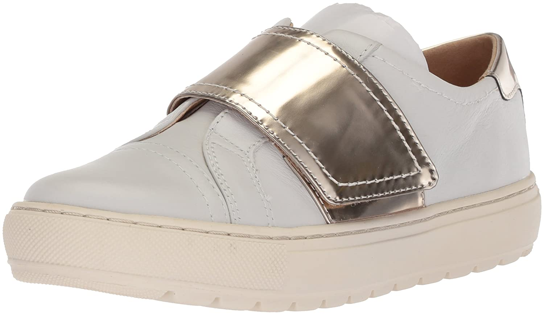 Geox Women's Breeda 15 Sneaker B074H8GRH3 38 M EU (8 US)|White/Platinum