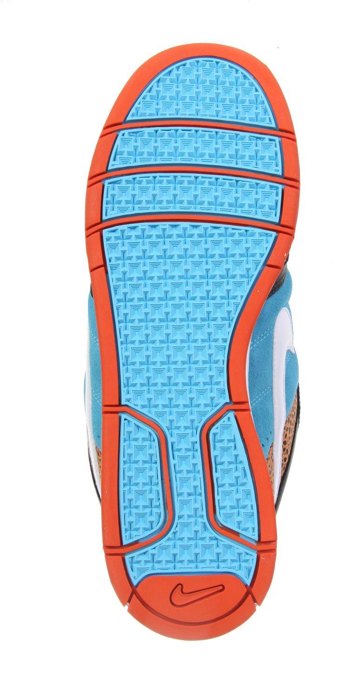 Nike Air Mogan Low 6.0 311839 BlackBlueWhiteTurquoise