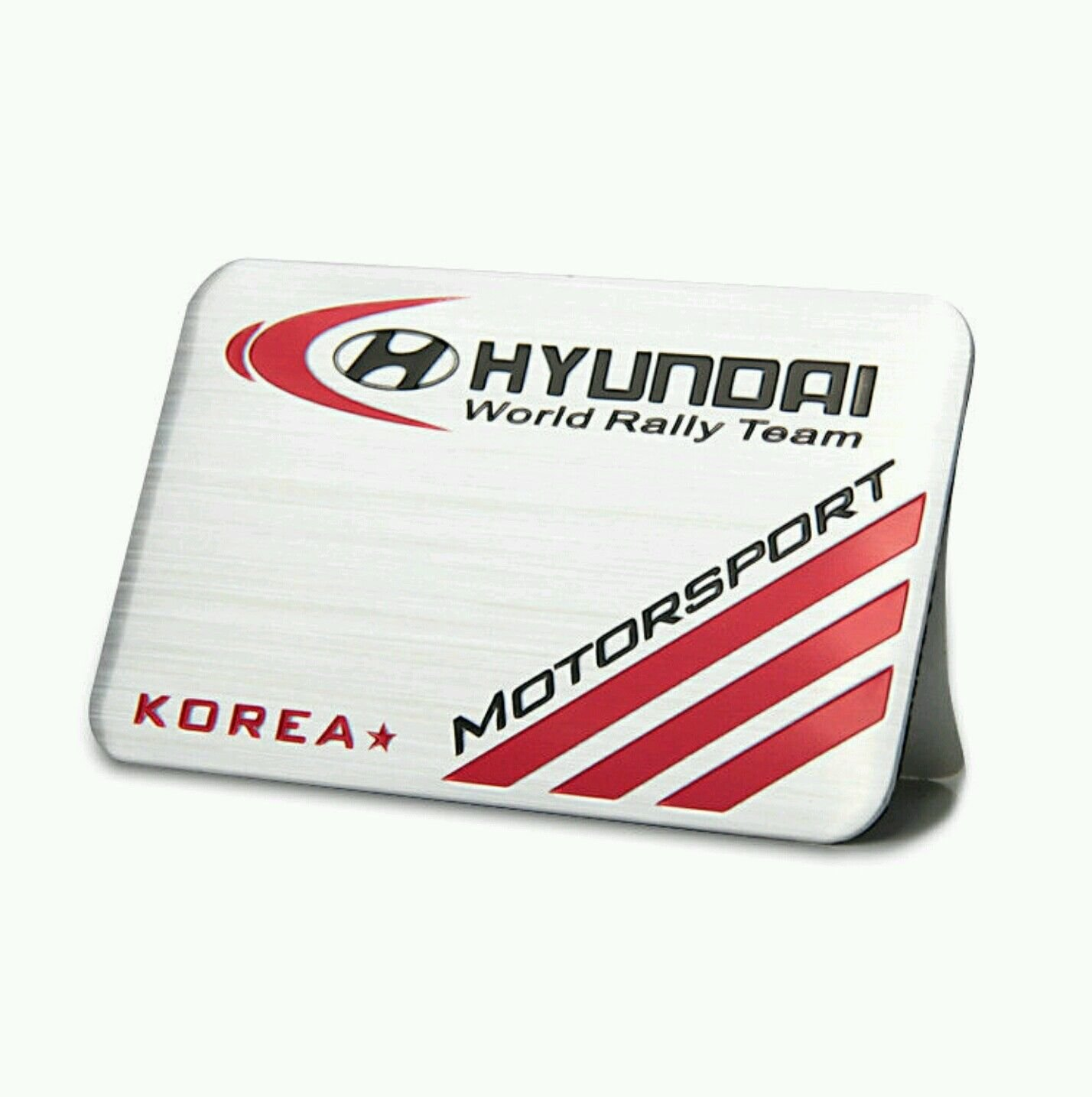 Aluminum Emblem for HYUNDAI Motorsport Korea Limited Edition