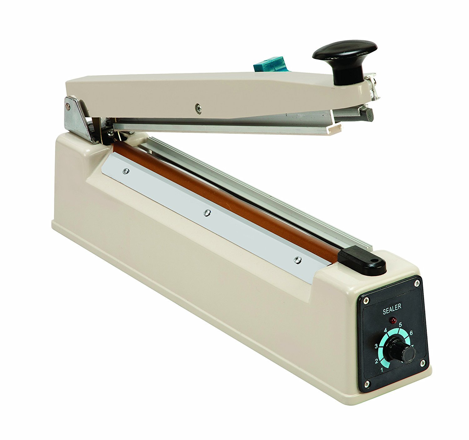 Heathrow Scientific HEA28272 305mm Heat Sealer with Cutter and US/Taiwan/Japan Plug, 110/120V AC, 450 Watts